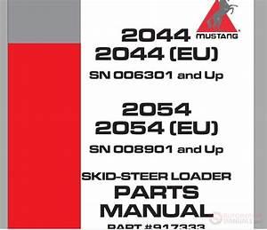 Mustang 2044 2044  Eu  2054 2054  Eu  Skid