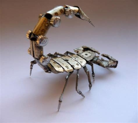 miniature mechanical insects