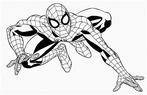 Superhero Coloring Pages Free And Printable