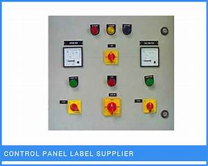 labels for control panel exporter ahmedabad With control panel labels