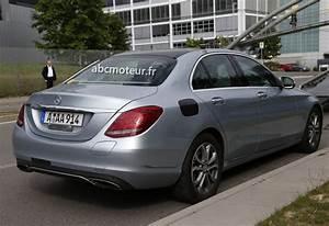 Mercedes Classe C 350 : spyshots mercedes classe c 350 2015 hybride ~ Gottalentnigeria.com Avis de Voitures