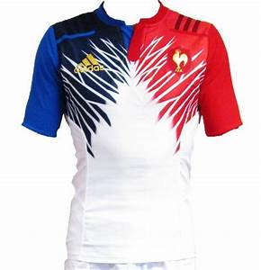 Maillot Rugby A 7 : white france 7 39 s away kit 2015 adidas french alternate sevens shirt 2015 new rugby kits ~ Melissatoandfro.com Idées de Décoration