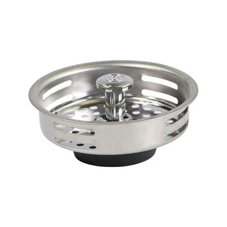 kitchen sink strainer parts everflow stainless steel kitchen sink strainer basket