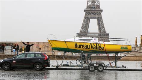 bureau vallee tours louis burton vendée globe 2016 avec bureau vallée