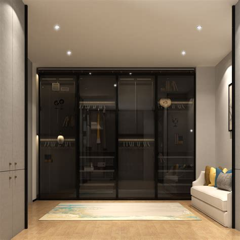 7 Latest Modern Bedroom Cupboard Design (with 3d Views