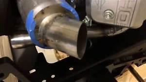 Briggs V-twin Vanguard  Custom Exhaust Build