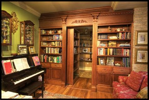 cachee dans la chambre 1000 idées sur le thème porte de bibliothèque cachée sur