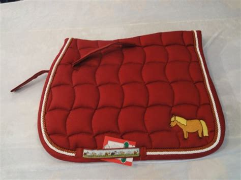 tapis de selle pour shetland bienvenue 224 la sellerie cavalo