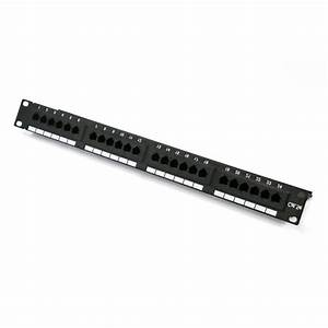 China 24 Port Cat5e Utp Patch Panel Suppliers