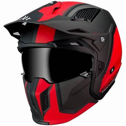 Mt Streetfighter Casco Helmet Sv C5 Matt