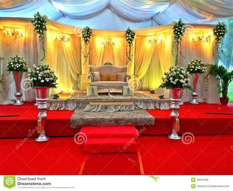 malay wedding stage decor singapore editorial