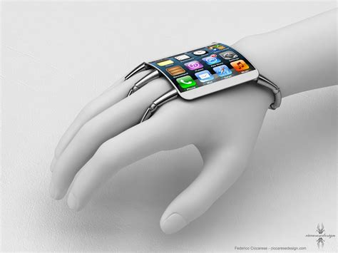 iphone 5 glass wearable iphone 5 concept with curved glass looks amazing