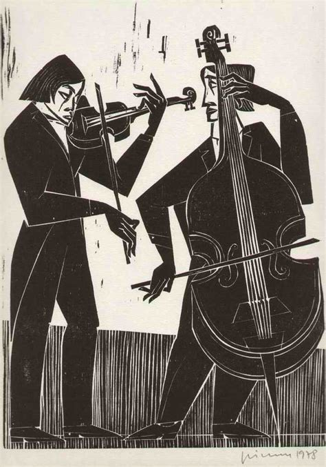 Grimm Küchen Karlsruhe by Gerhard Grimm 1985 Streicher Duo Handsignierter