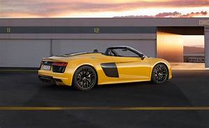 2017 Audi R8 Spyder Reviews & Specs - Best Sedans