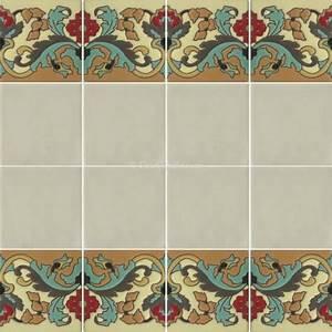 Mexican Border Tiles High Relief Ceramic Olmedo