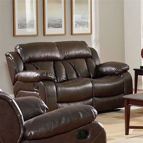 Shore Loveseat by Shore Reclining Loveseat By Standard Furniture