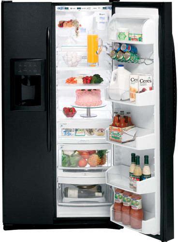 ge pssmgtbb  cu ft freestanding side  side refrigerator  expresschill  external
