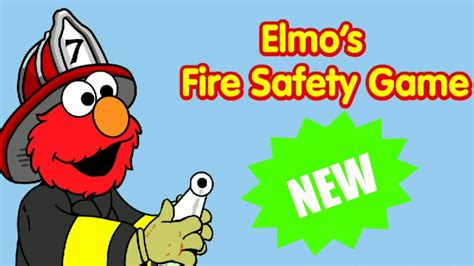Sesame Street Elmo's Fire Safety Educational Kids And