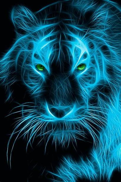 Tiger Neon Wallpapers Desktop Screensavers Phone Px