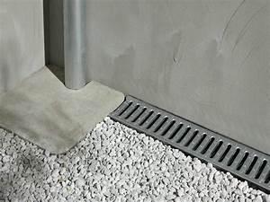 Comment Faire Un Drainage : comment installer un caniveau leroy merlin ~ Farleysfitness.com Idées de Décoration