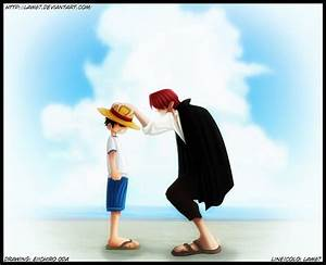 OP chap 1 - Shanks and Luffy by Law67 on DeviantArt