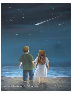 Forever - 8x10 Fine Art Print of a Boy and Girl Holding ...