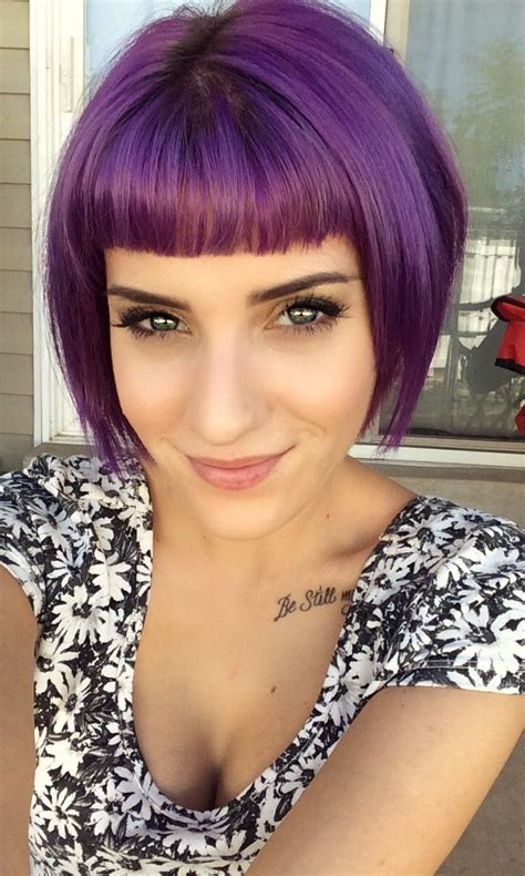 purple hair this needs to happen i don t think i can