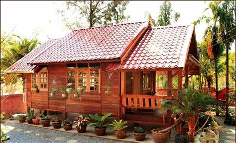 Desain Rumah Kayu Panggung Minimalis Supplier Bata Ekspos
