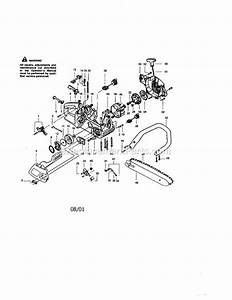 Craftsman 36cc Chainsaw Fuel Line Diagram