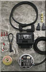 Programmable Single Fire Ignition System Ultima Ignition System For Harley 70