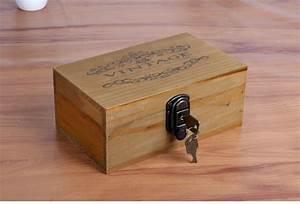 Cash Money Safe Box Case Jewellery Locker Box with 2 keys