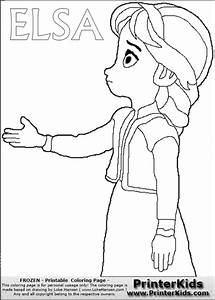 Get This Free Printable Queen Elsa Coloring Pages Disney