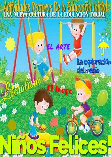 Actividades Rectoras De La Educacion Inicial By Diana