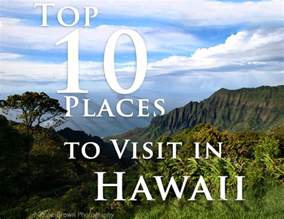 top 10 places to visit in hawaii