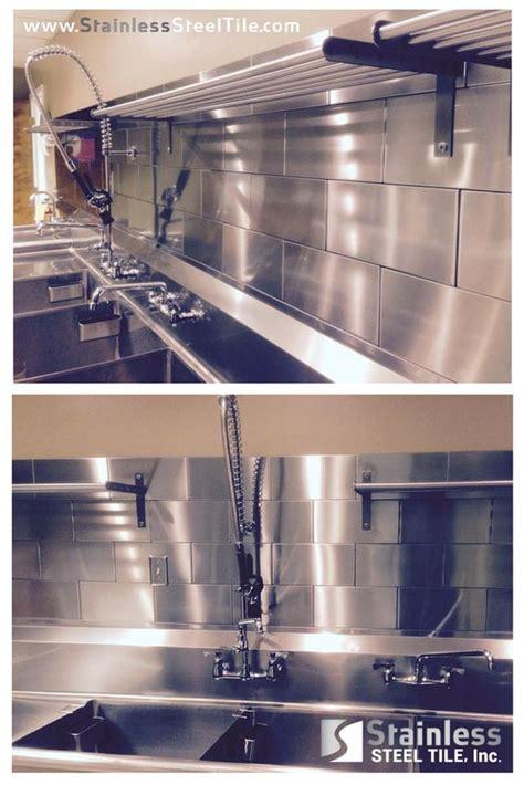 commercial kitchen backsplash stainless steel tile backsplash modern metal tiles 3d diamond subway tile pattern