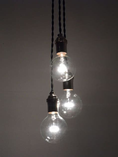 3 cluster color choices industrial pendant lighting