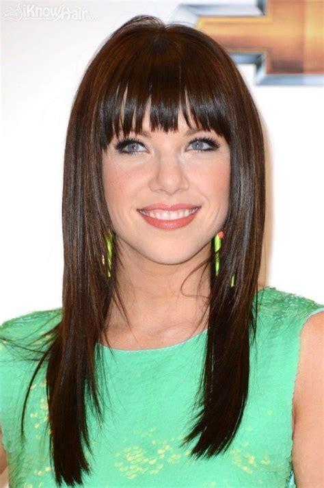 coiffure avec frange 30 styles magnifiques de coiffures avec frange la preuve en photos coiffure simple et facile