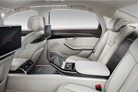 2018 Audi A8 L Interior Rear Autobics