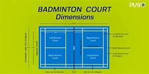 33 Badminton Court With Label