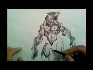 Axel Dreck: como dibujar un hombre lobo YouTube