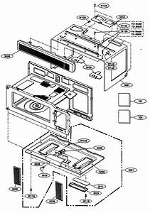 Kenmore 72180002400 Microwave  Hood Combo Parts