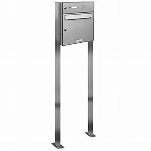 Briefkasten Mit Klingel Freistehend : 1er premium edelstahl briefkasten standanlage freistehend mit klingel ebay ~ Sanjose-hotels-ca.com Haus und Dekorationen