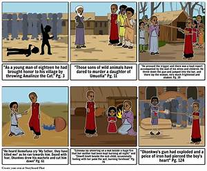 Timeline Things Fall Apart Storyboard By Harmonycaldwell