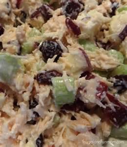 Cranberry Apple Chicken Salad Recipe
