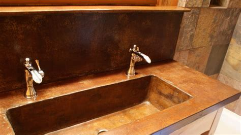 Inspiring Rustic Bathroom Sinks  Home Design #1082