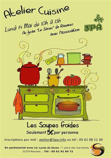 affiche atelier cuisine pin le dun homme ordinaire page 1 on