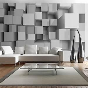 Wall Art Tapeten : fototapeta 3d geometryczne puzzle ~ Markanthonyermac.com Haus und Dekorationen