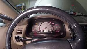 How To Reset Srs Light On 1998-2002 Honda Accord  J Series Diy