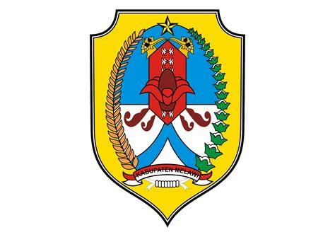 logo kabupaten melawi vector kota