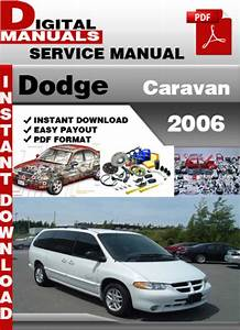 Dodge Caravan 2006 Factory Service Repair Manual